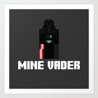 Mine Vader Art Print