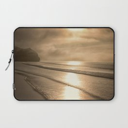 And so it Begins sunrise at Avila Beach California Laptop Sleeve