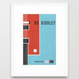 Bo Diddley Framed Art Print