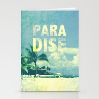 paradise Stationery Cards featuring Paradise by M Studio
