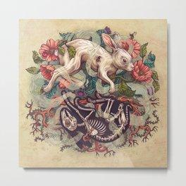 Dust Bunny Metal Print