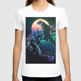 Godzilla and kong  T-shirt