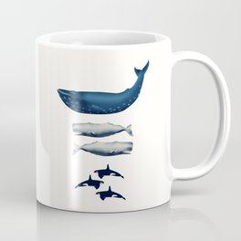 Whale Counting 123  Coffee Mug