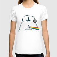 dark side of the moon T-shirts featuring The Dark Side... That's No Moon! by Andrew Treherne