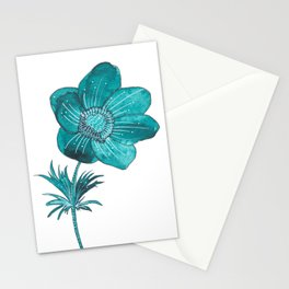 Anemone Watercolor Stationery Cards