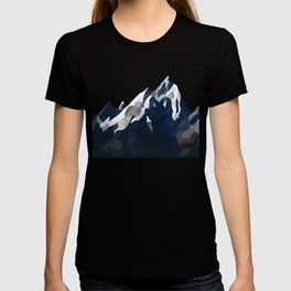 Geo Mountain Range (Part 1) T-shirt