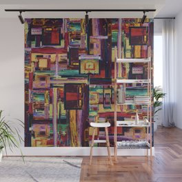 Windows to Red Planet Wall Mural