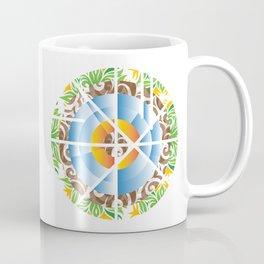 Kaleidoscope Earth Coffee Mug
