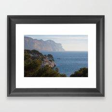 Calanques de Cassis 8615 Framed Art Print