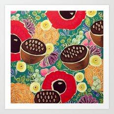 Garden City ll Art Print