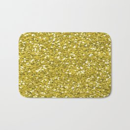 Glitter Gold Bath Mat