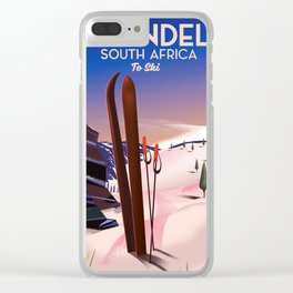 Tiffindell South Africa Clear iPhone Case