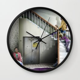The Beetroot Incident at Feltham Library Wall Clock