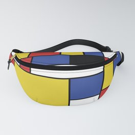 Mondrian Geometric Art Fanny Pack