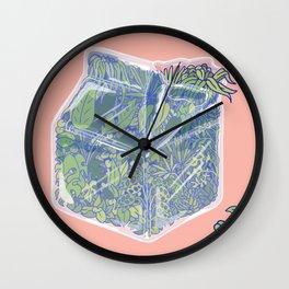 Plant Milk Wall Clock