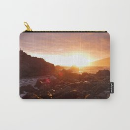 Big Sur's Rocky Shore Sunset Carry-All Pouch