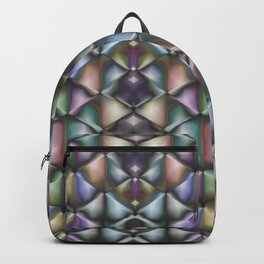 Glowing Diamonds Abstract Backpack
