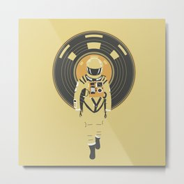 DJ HAL 9000 Metal Print