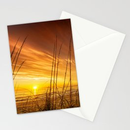 Sunrise from the Dunes at the Outer Banks, North Carolina Stationery Cards