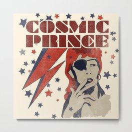 COSMIC PRINCE BEIGE Metal Print