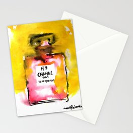 Channel No. 5 Stationery Cards