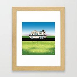 Quiltmobile Framed Art Print