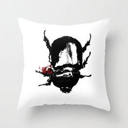 Dead Bug Throw Pillow