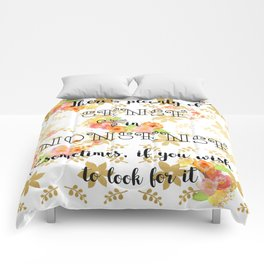 Nonsense Comforters