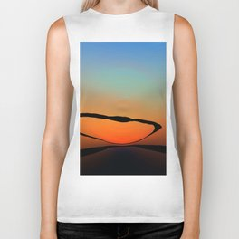 Colorful Bright Modern Art - Eternal Light 2 - Sharon Cummings Biker Tank