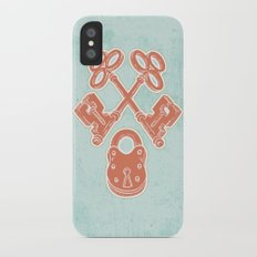 Keys and Lock Slim Case iPhone X