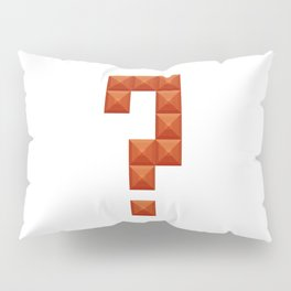 Question mark print in beautiful design Fashion Modern Style Pillow Sham