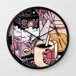 Illustrator's Morning Wall Clock