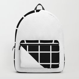 GEOMETRY DESIGN (BLACK-WHITE) Backpack