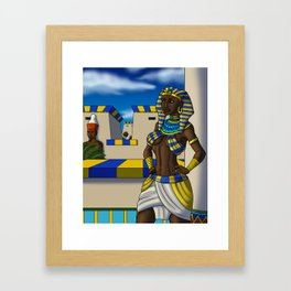 Lady of the Two Lands Framed Art Print