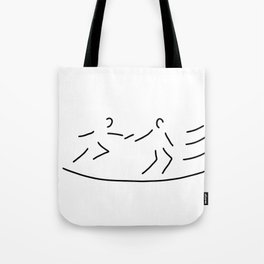 relay race athletics stick Tote Bag