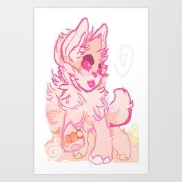 PINKO! Art Print
