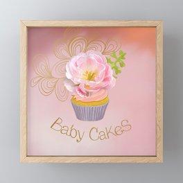 Baby Cakes Framed Mini Art Print