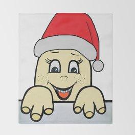 Merry Christmas,Frohe Weihnachten,Joyeux Noël ,Buon Natale,Navidad,Feliz Natal,С Рождеством Throw Blanket