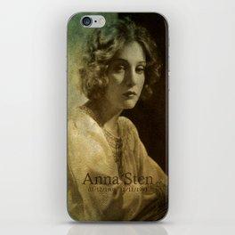 Anna Sten iPhone Skin