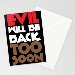 Evil Stationery Cards