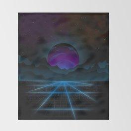 Outrun-2 Throw Blanket