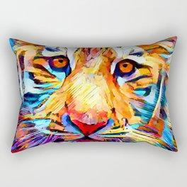 Siberian Tiger Rectangular Pillow