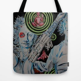 TechnoTrain Tote Bag