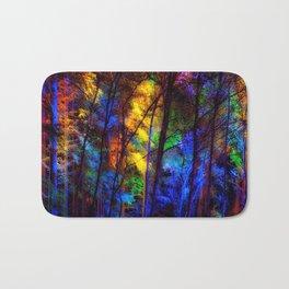 Rainbow Enchanted Forest Bath Mat