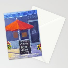 Penny Beers San Luis Obispo Stationery Cards