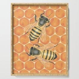 Honeybees Serving Tray