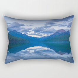 Bowman Lake Rectangular Pillow