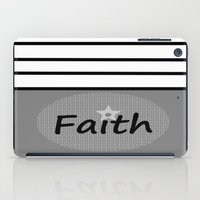 faith iPad Cases featuring Faith by Jessielee