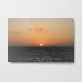 Salt Creek Sunset Metal Print