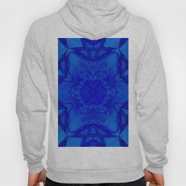 Blue kaleidoscope 2 Hoody